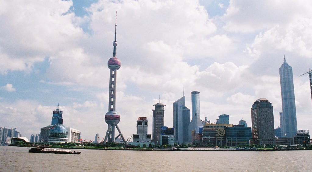 Shanghai Pudong in 2002
